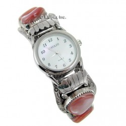 Sterling Silver Ladies Cuff Watch