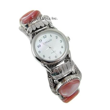 Sterling Silver Ladies Cuff Watch