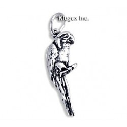 Sterling Silver Parrot Charm
