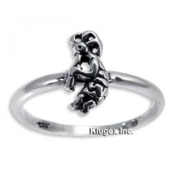 Sterling Silver Ring With Kokopelli Size 7