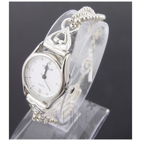 Sterling Silver Ladies Toggle Watch Jewelry Farm