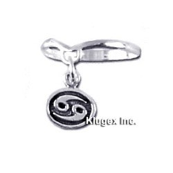 Zodiac Sterling Silver Ring CANCER Size 5