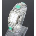 Southwestern Sterling Silver Ladies Watch w Turquoise