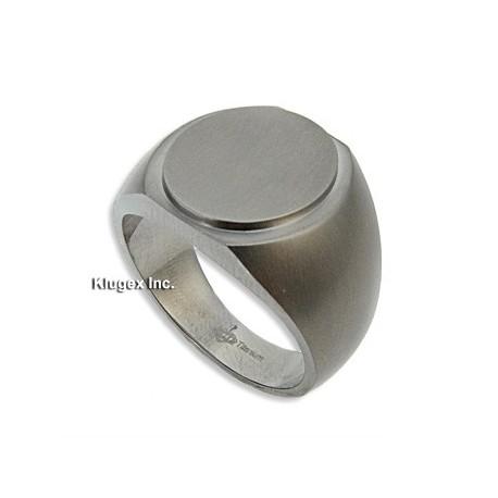 Titanium Ring Size 10