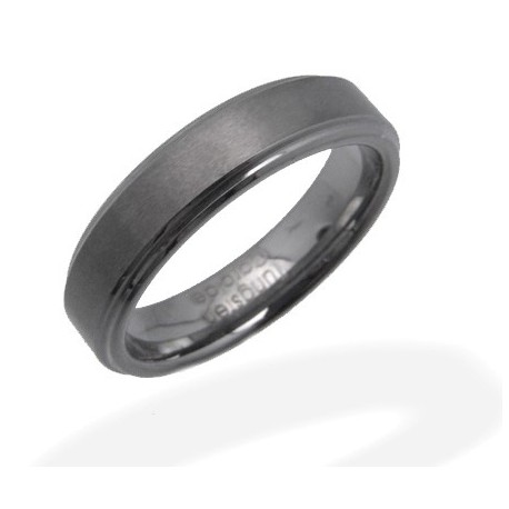 Tungsten Carbide Band Ring Size 8