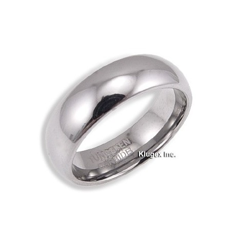 Tungsten Carbide Band Ring Size 7