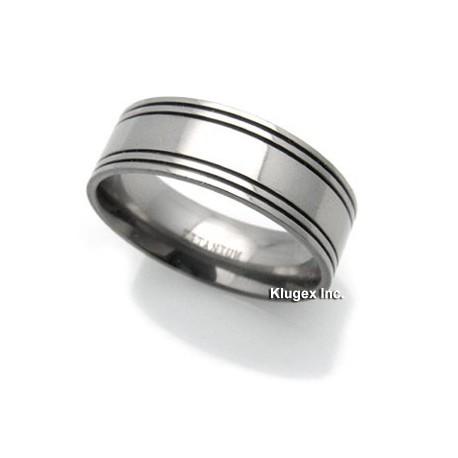 Titanium Ring Size 8