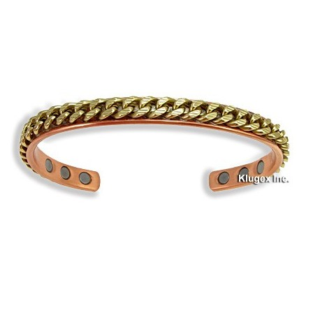 Magnetic Copper Cuff Bracelet