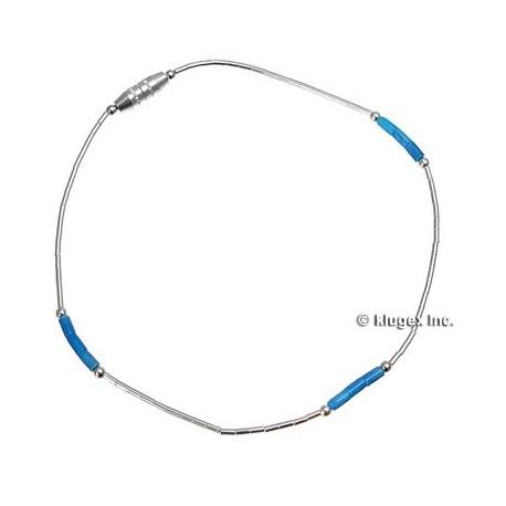 Liquid silver & Lapis Bracelet