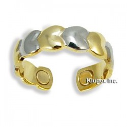 Adjustable Magnetic Copper Ring with Heart