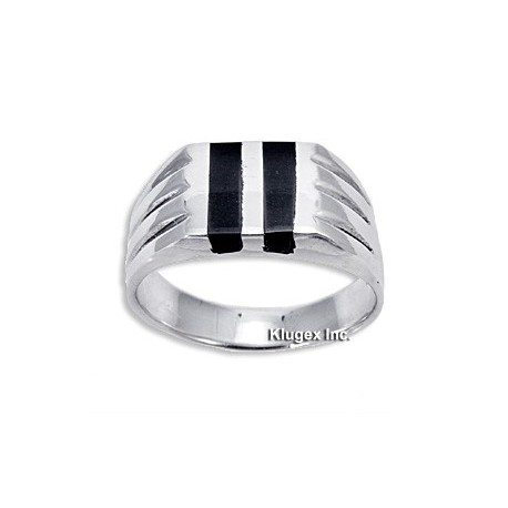 Sterling Silver Mens Ring Size 10