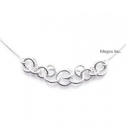 Sterling Silver Harmony Links Necklace