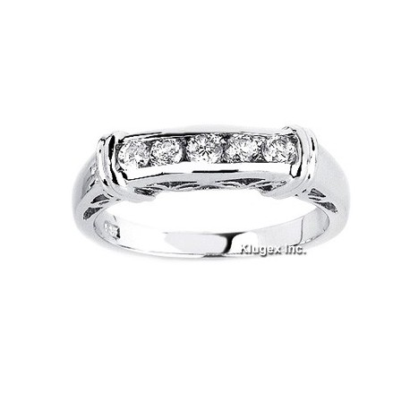 Sterling Silver Ring With CZ Size 8