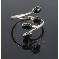 Native American Sterling Silver Adjustable Ring
