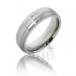 Frontier Titanium Wedding Band Ring