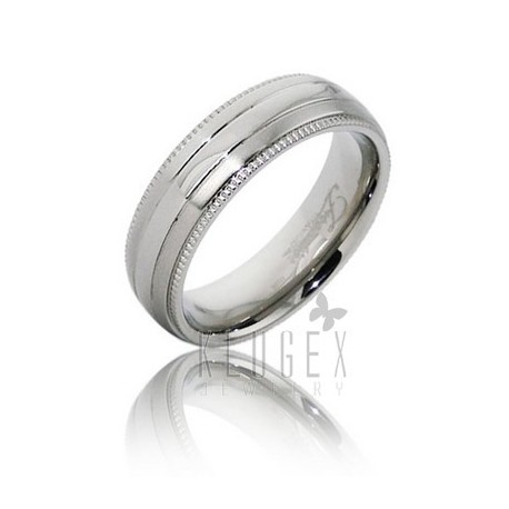 Frontier Titanium Wedding Band Ring Size 8