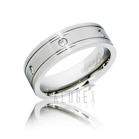 Frontier Titanium Wedding Band Ring Size 7