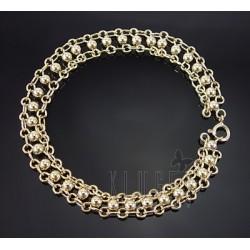 Sterling Silver Vermeil Bracelet