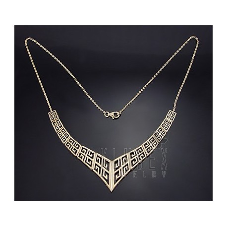 Sterling Silver Vermeil Necklace