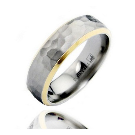Titanium Wedding Band Ring Size 11