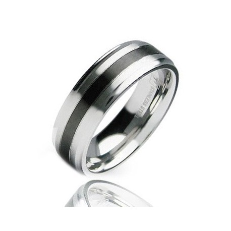 Stainless Steel Band Ring Size 9