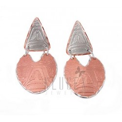 Handcrafted Copper Earrings