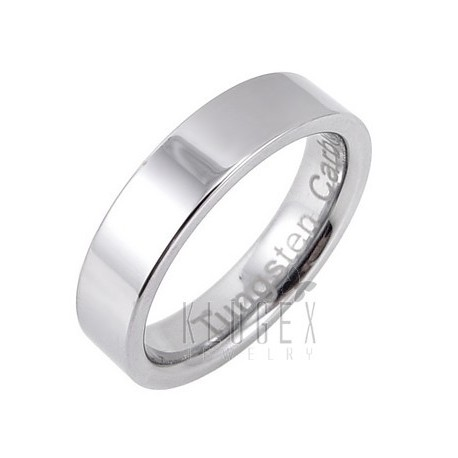 Tungsten Carbide Band Ring Size 12