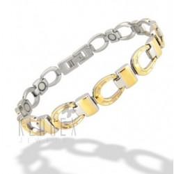 Magnetic Stainless Steel Horseshoe Bracelet