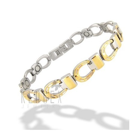 Magnetic Stainless Steel Horseshoe Bracelet