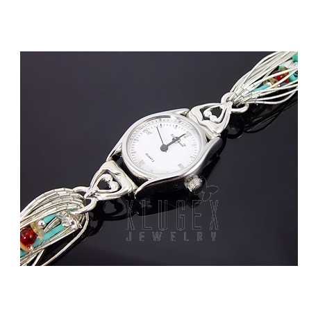 Southwestern Sterling Silver Ladies Watch