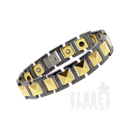 Tungsten Magnetic Link Bracelet
