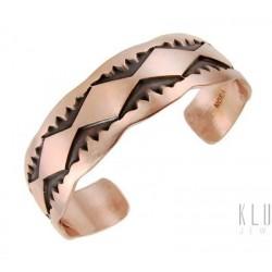 Navajo Copper Cuff Bracelet