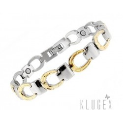 Stainless Steel Magnetic Bracelet with Horseshoe
