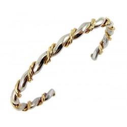 Sergio Lub Cuff Bracelet - Silver Spiral