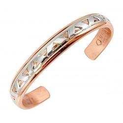 Sergio Lub Copper Cuff Bracelet - Copper Diamond