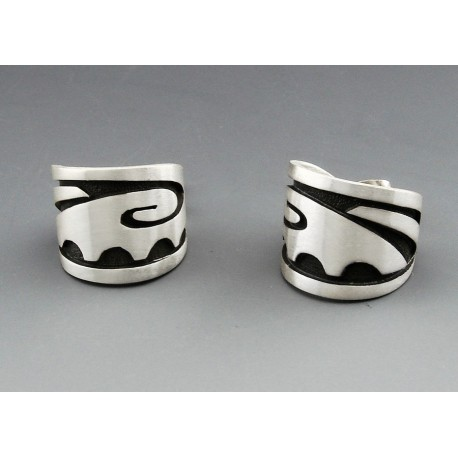 Southwestern Sterling Silver Earrings