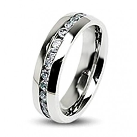 Stainless Steel Eternity Ring