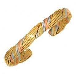 Sergio Lub Cuff Bracelet - Golden Hair