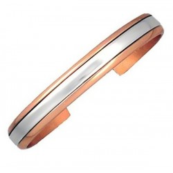 Sergio Lub Copper Cuff Bracelet - Sterling in Copper