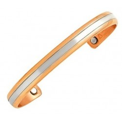 Sergio Lub Magnetic Copper Cuff Bracelet - Magnetic Two Worlds