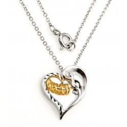 Black Hills Wish Rings Heart Pendant