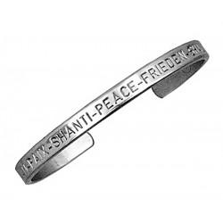 Sergio Lub German Silver Cuff Bracelet – Peace Silver