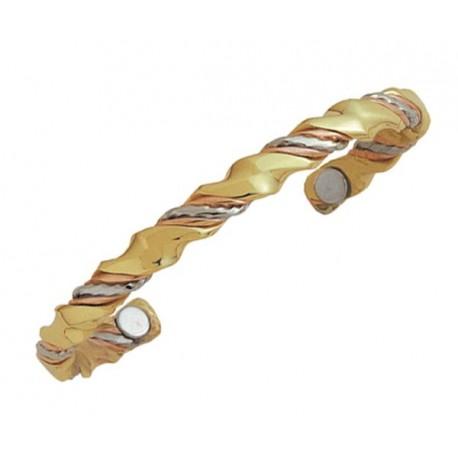 Sergio Lub Magnetic Copper Cuff Bracelet - Ayurveda