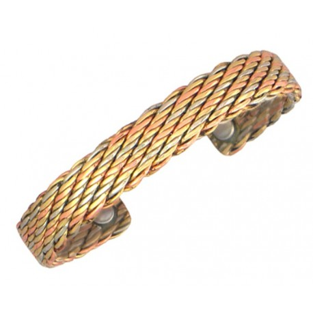 Sergio Lub Magnetic Copper Cuff Bracelet - Magnetic Life s Tapestry