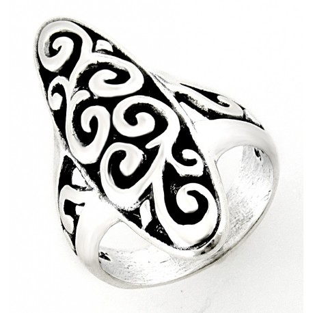 Southwestern Sterling Silver Ring