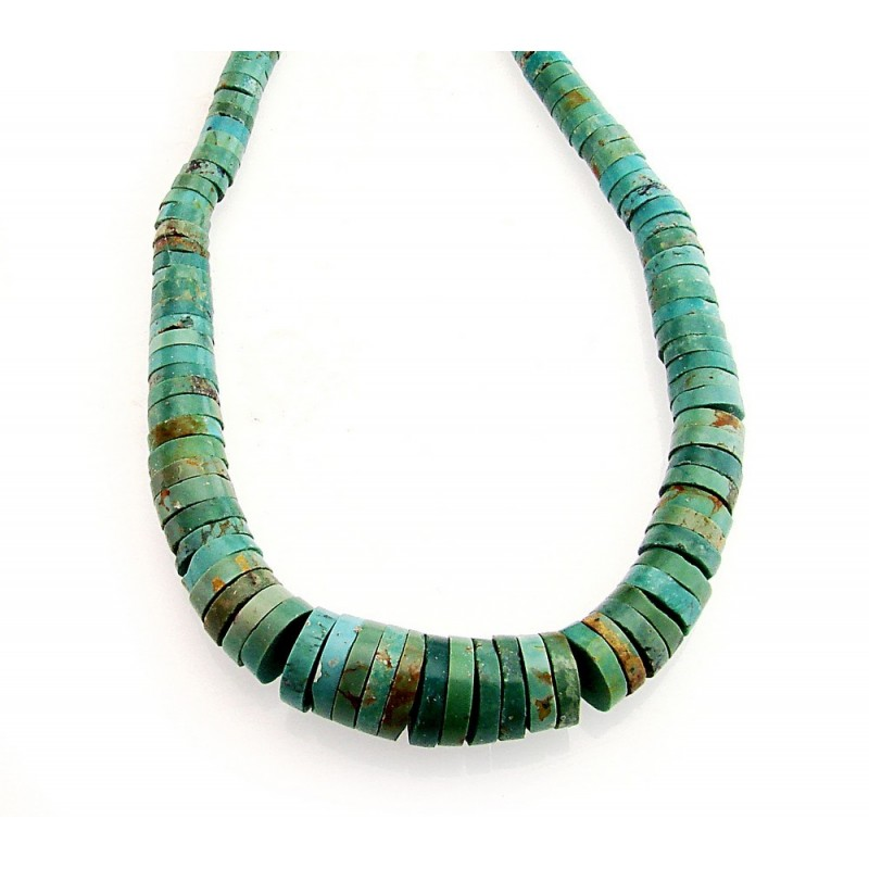 Southwestern turquoise necklace with sterling silver for Southwestern silver turquoise jewelry