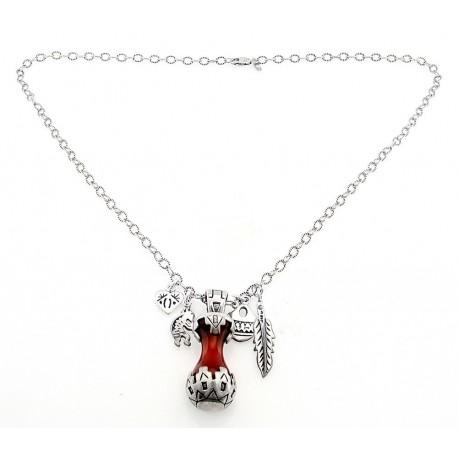 Southwestern sterling silver carnelian pendant with necklace southwestern sterling silver carnelian pendant with necklace aloadofball Choice Image