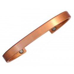 Sergio Lub Magnetic Cuff Bracelet – Magnetic Casual Copper Brushed