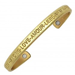 Sergio Lub Magnetic Cuff Bracelet – Love Brass Magnetic
