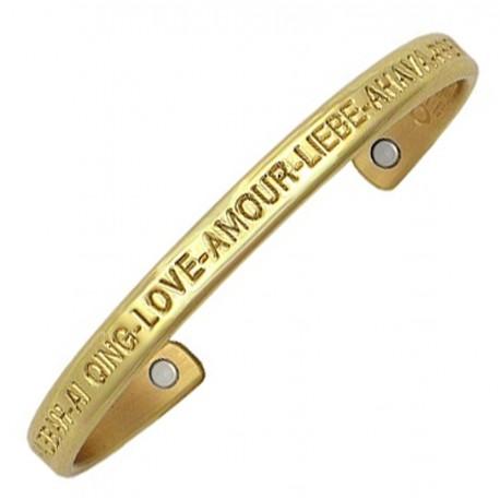 Sergio Lub Magnetic Cuff Bracelet – Love Brass Magnetic